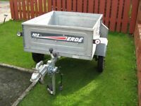 Erde 102 tipping trailer for sale