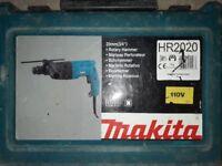 Makita HR2020 Rotary Hammer 110v Gun