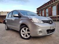 Nissan Note 1.5 dCi Tekna 5dr E5 1 OWNER+LEATHER+NAV+CRUISE RING NOW FOR MORE INFO 07735447270