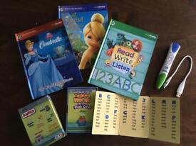Leap Frog Pen and books/cards