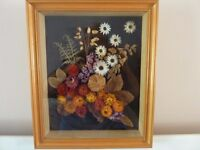 DRIED FLOWER PICTURE