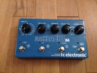 TC Electronic Flashbackx4 Delay Pedal