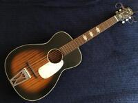 Harmony Stella H929 parlour guitar. Vintage.
