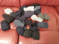 Mens socks size 12. New 24 pairs various colours. One size