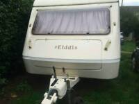 Elddis Wisp 400/5 1989/90 5 berth caravan.