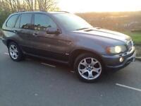 2003 53 Facelift BMW X5 SPORT 3.0 D Automatic /tripronic # SAT NAV # LEATHER#XENONS# PARKING SENSORS