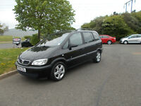 VAUXHALL ZAFIRA 2.0 DTI DIESEL ENERGY 7 SEATER MPV BLACK 2004 BARGAIN ONLY £950 *LOOK* PX/DELIVERY