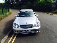 FDSH. Mercedes benz c class. Low miles. Mint condition