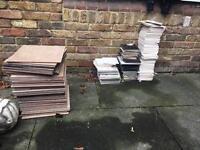 Job lot of tiles.