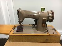 Singer sewing machine (item 1)