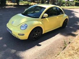 2000 Volkswagen Beetle 2.0 in yellow mot December