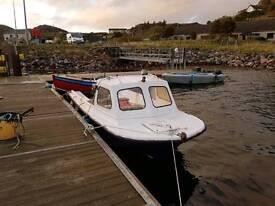 16ft fiberglass boat