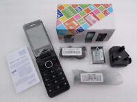 Unlocked Sim Free Alcatel onetouch 2012G Chocolate Flip Bluetooth Camera Phone