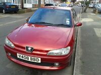 Off the road - Peugeot 306 1.4 petrol. Good runner