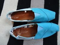 Mens Toms Light Blue Size 9