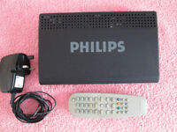 Philips DTR210/05 Freeview digital receiver