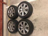 Audi A4 Alloys 225 50 17