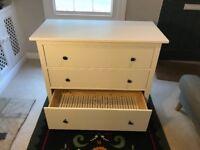 Ikea (Hemnes) Chest of 3 drawers.