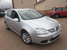 1 year Mot no advisory Volkswagen Golf 1.9 tdi blue motion 58reg fsh cheap to run and insurance