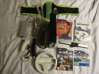 WII ZUMBA BUNDLE with BELT and GAMES