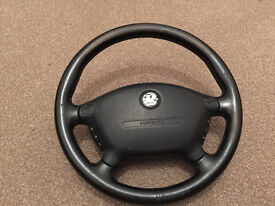 GENUINE VECTRA B STEERING WHEEL WITH AIRBAG