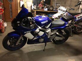Yamaha r6 600cc