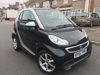 Smart Fortwo 1.0 MHD 2013, SatNav, Bluetooth, FULL Service History, HPI Clear