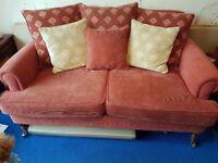 Upholstered Laura Ashley Styled 2 Seat Sofa