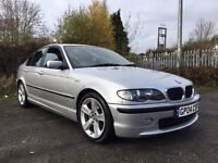 BMW 3series 316 ES long mot FULL LEATHER low miles ALLOYS service history MANUAL