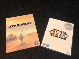 Star Wars Complete Saga + Force Awakens Bluray