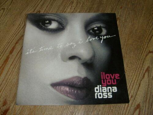 Diana Ross Concert Program 2007 I Love You Tour