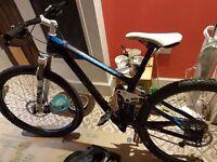 2014 Trek Ex fuel 9.7 Mountain bike