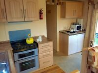 Cheap static starte holiday home on Nairn Lochloy