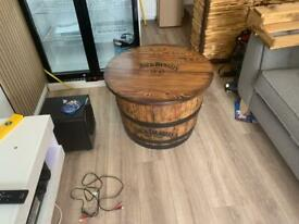 Jack Daniels Barrel Table