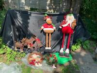 Job Lot Outdoor Large Christmas Ornaments Decorations