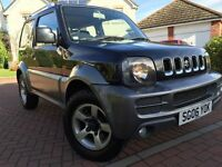 *24 MTHS WARRANTY*2006(06)SUZUKI JIMNY 1.3 VVT LIMITED EDITION WITH FULL SERVICE AND HALF LEATHER*