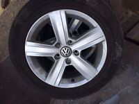 Volkswagen Golf MK7 Alloy Wheels a set of 4 all in excellent condition VW Golf 1.4 TSI Wheels