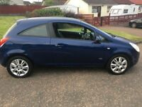 2009 Vauxhall Corsa Design, 3 Door, Petrol, Manual, 12 months MOT, super low miles and very clean