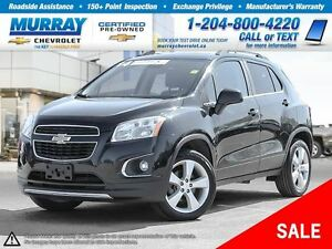2014 Chevrolet Trax LTZ *Heated Seats, Remote Start, OnStar*