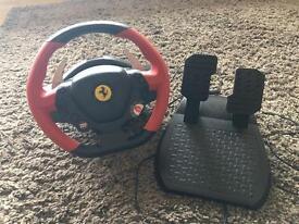 Ferrari racing wheel for Xbox one