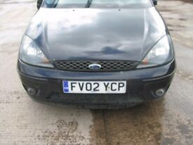 Ford Focus ST170 Front Bumper With Fog Lghts