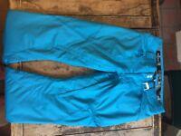 "Unisex Oakley Ski Trousers, Medium 32"" waist."