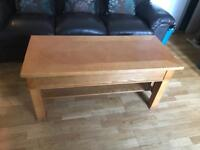 Solid wood table with games and Stroge