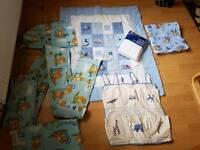 Baby boys bedding bundle