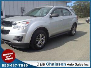 2012 Chevrolet Equinox LS ($109 Bi-Weekly $0 Down Tax Inc.)*