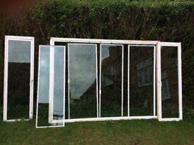 Glazing windows - secondary glazing used.