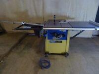 Scheppach TS2500ci Sliding Table Saw - 240v