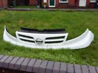nissan primastar front grill 08 same as trafic and vivaro
