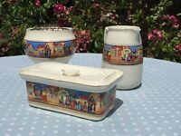 Vintage Crown Ducal Pottery Set