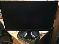 22 inch LCD wide screen monitor